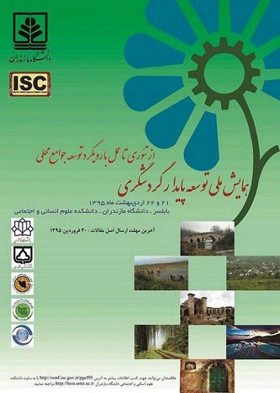 همایش (کنفرانس) تاریخ، گردشگری  اردیبهشت 1395 ,همایش (کنفرانس) ملی ایران بابلسر